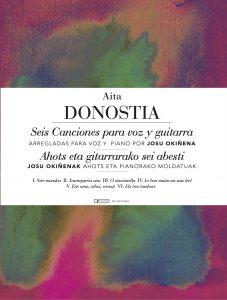 Seis canciones voz y piano Aita Donostia